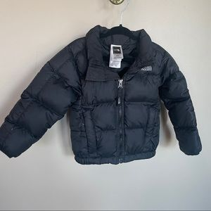 The North Face 550 down puffy jacket-2T